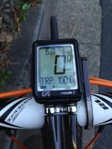 1月19日100kmチャレンジ5