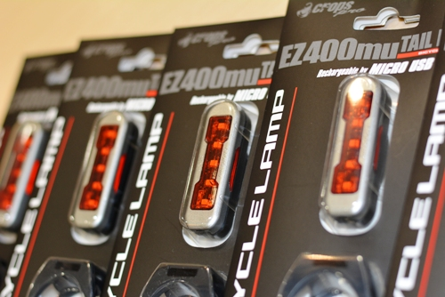 自動点灯の安心テールライト入荷しました!「CROPS EZ400mu バイシクルランプ」