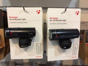 ボントレガーNEW 「ION120」&「ION35」フロントライト