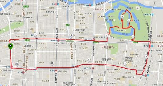 クロスバイクで巡る春の大阪城梅林&グルメポタリング