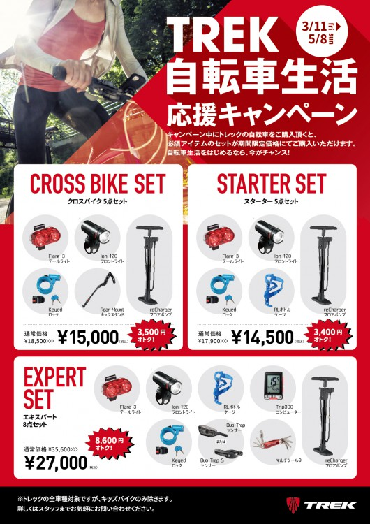 TREK自転車生活応援キャンペーン