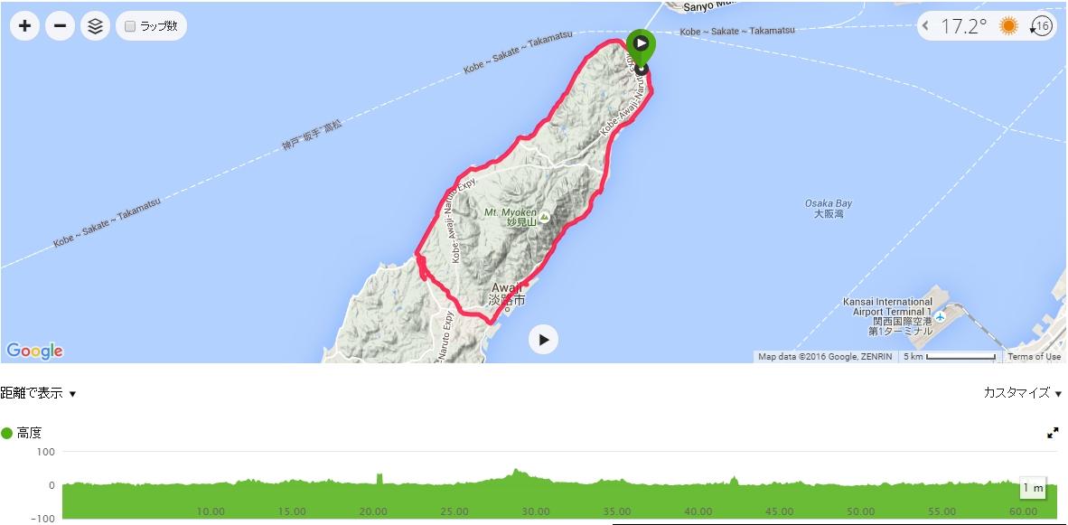 クロスバイクで淡路島サイクリングに行ってきました!