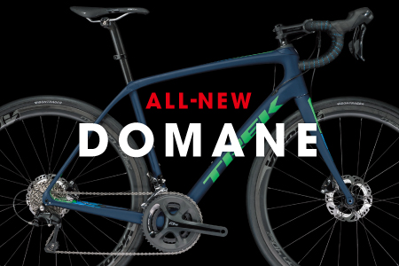 「ALL-NEW DOMANE」 快適性と安定性を重視したロードバイクシリーズ