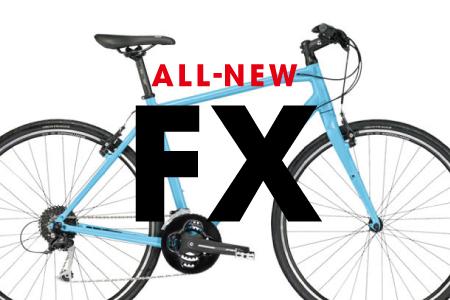 「ALL-NEW FX」クロスバイクの定番モデルが新シリーズで登場!