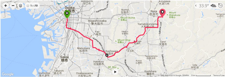 大阪~奈良