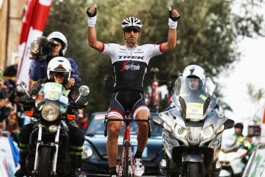 Fabian Cancellara on day three of the Challenge Mallorca