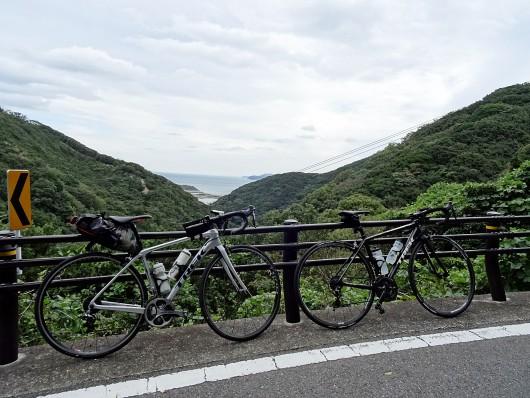 由良登り風景