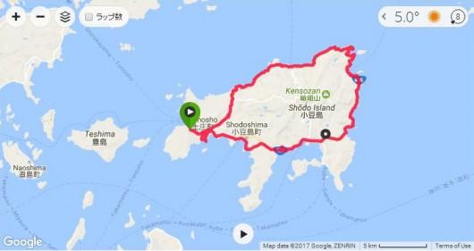 冬でも楽しくサイクリング!TREK(トレック)DOMANE SLR(ドマーネ エスエルアール)で小豆島1周へ行ってきました。