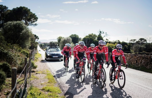 Team Trek-Segafredo Training Camp january 2017, Mallorca/Spain