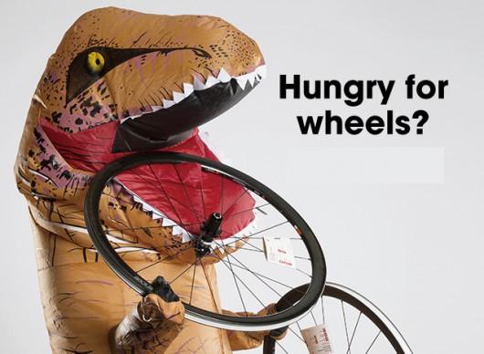 Hungry for wheels ? ロードバイクのホイールをアップグレードしませんか。