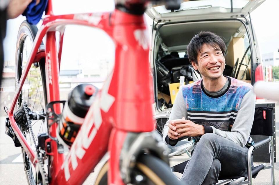 全日本自転車競技選手権大会ロードレースにメカニック出張中!