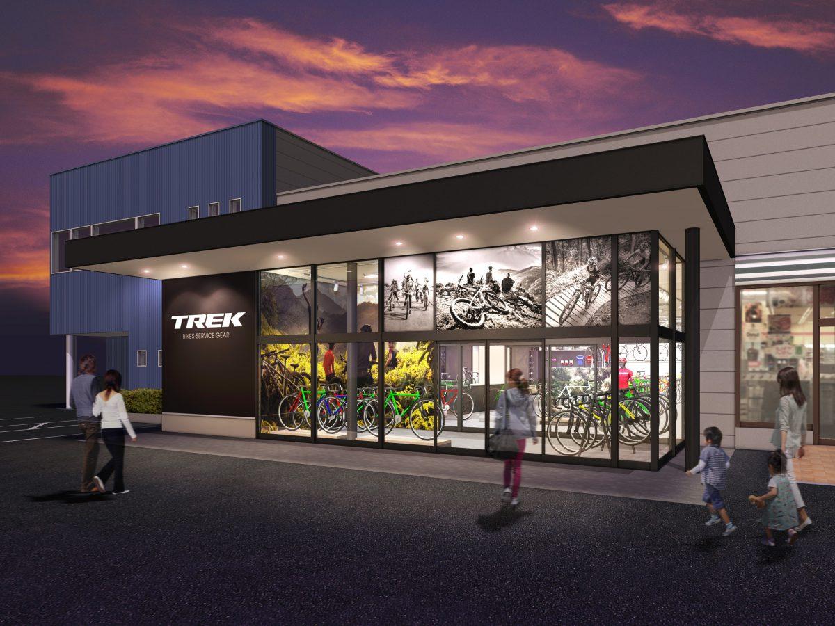 トレック直営店『TREK Bicycle 甲府』が5月11日(金)にオープン!