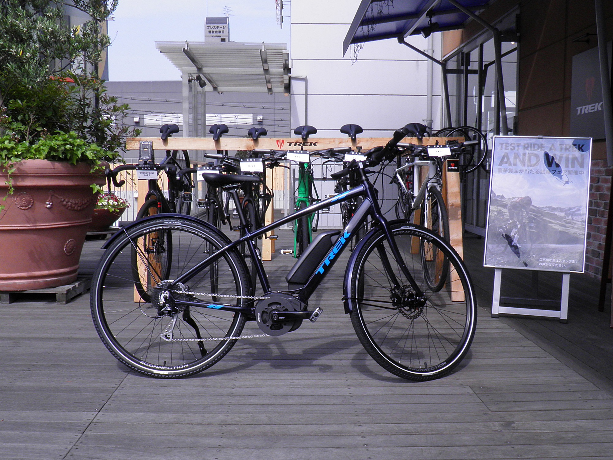 神戸六甲店★電動アシスト eBike 『VERVE +』 が試乗できます★