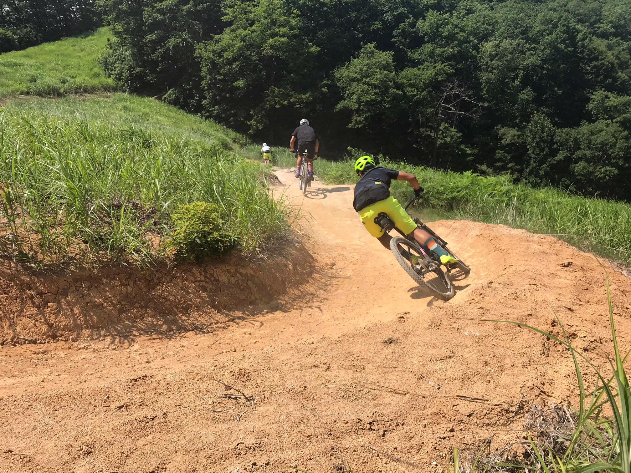 【暑さから逃げて】マウンテンバイクパーク初体験【白馬岩岳へ】