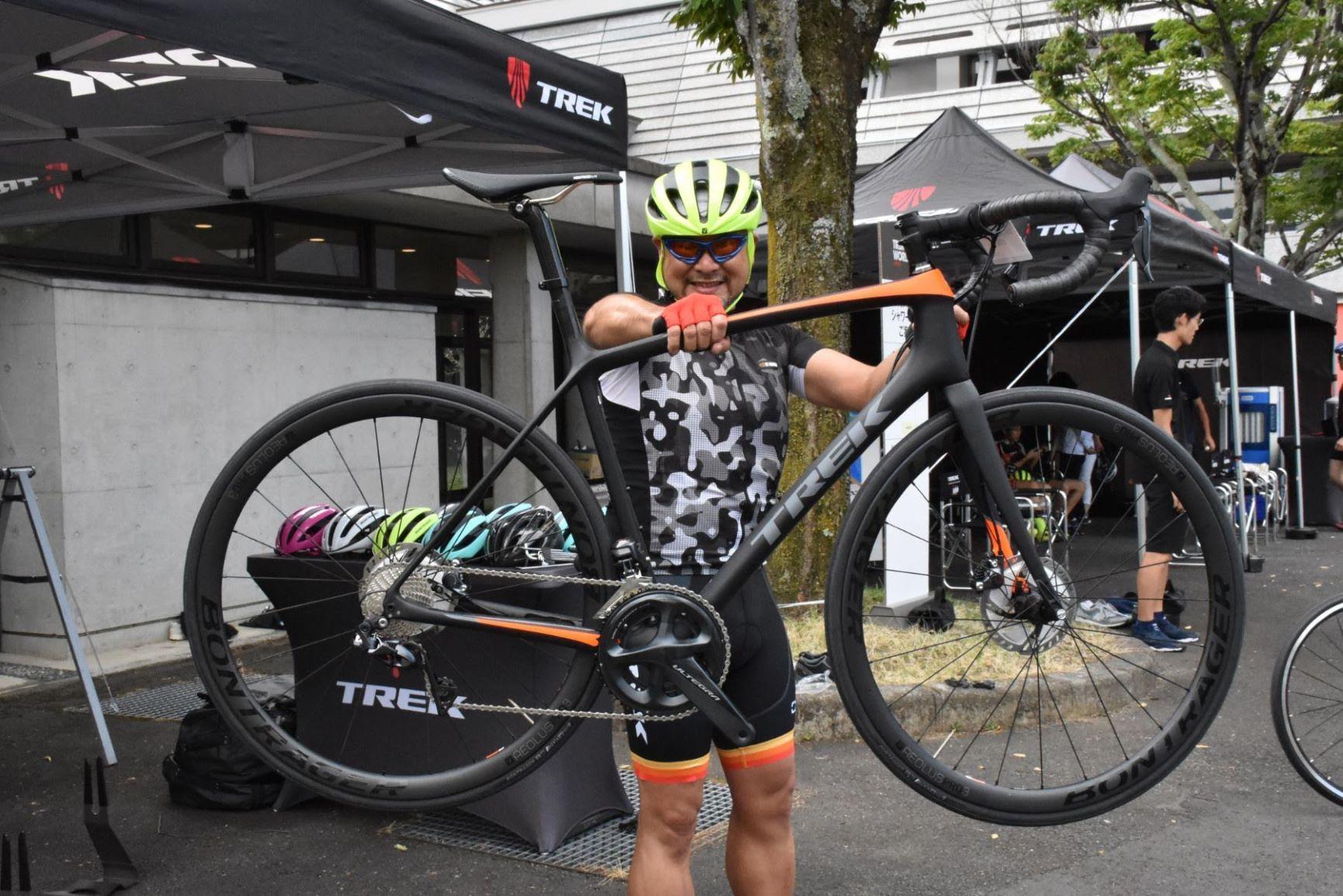 【2019年モデル】新型 Ēmonda SLR 7 Discに乗ってみた!   TREK Bicycle ...