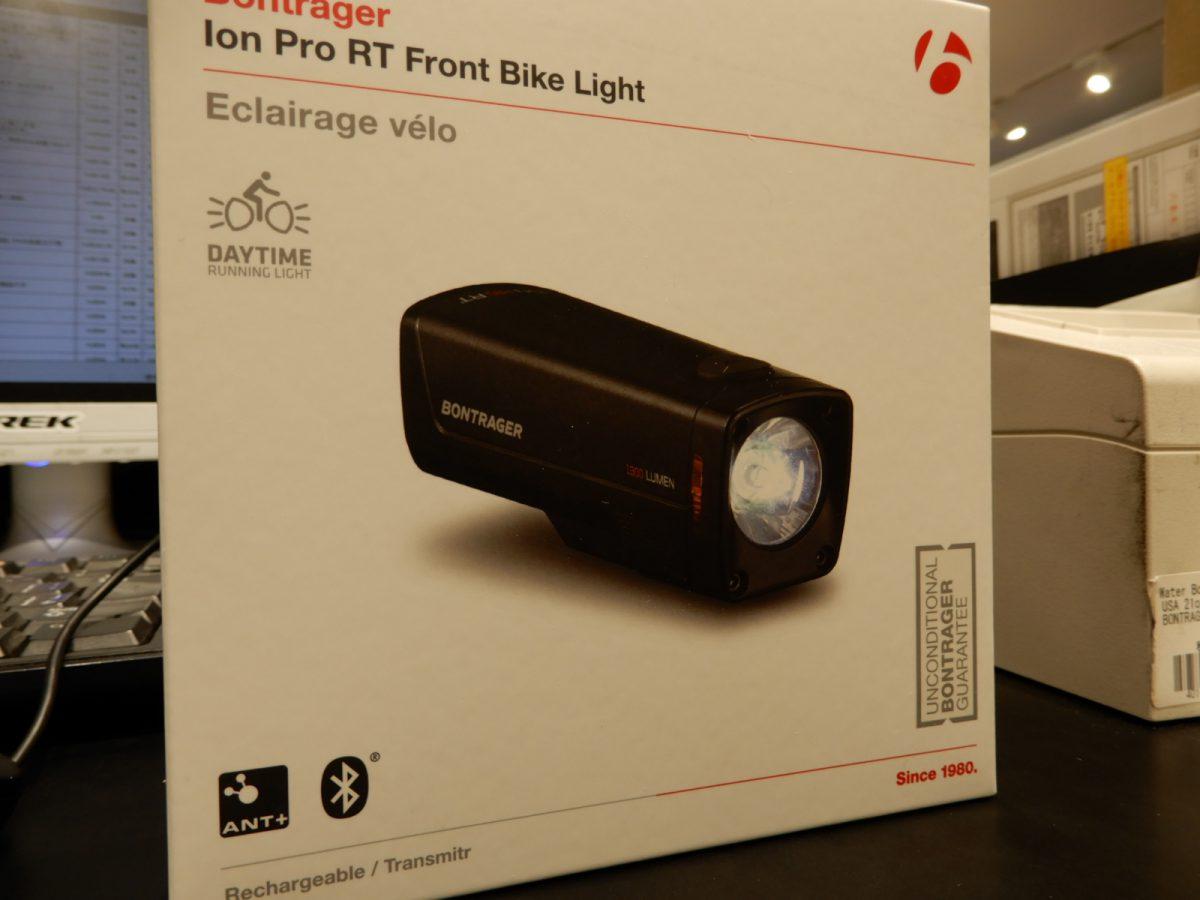 """新型ライト""""Ion Pro RT""""入荷しました!"""