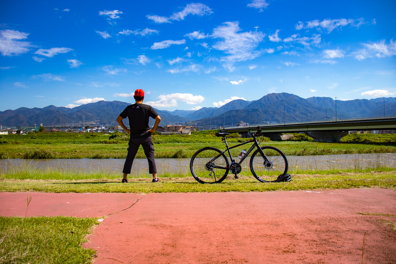 秋のサイクリングを楽しもう! FX3 DISCでゆく、荒川&笛吹川サイクリングロードまったりライド