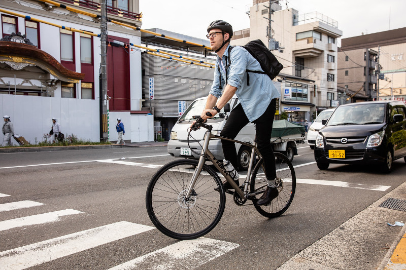 そうだ、自転車通勤はじめよう。