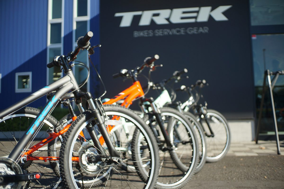 TREKの高品質キッズバイク、全サイズあります!!