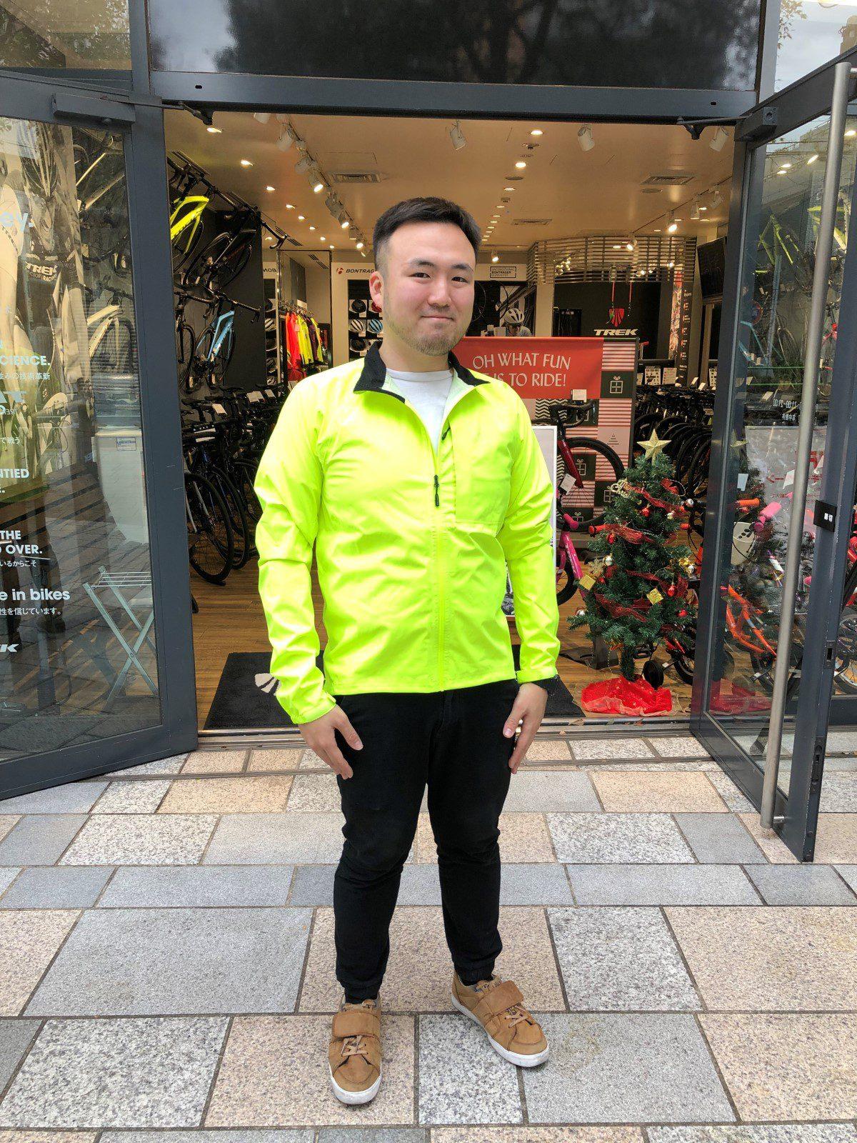 """極めろABCコンセプト!""""Circuit Stormshell Cycling Jacket""""のイエロー色を2週間街…"""