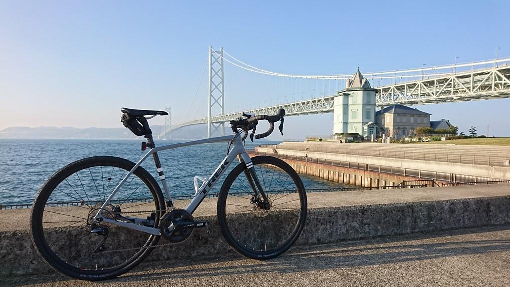 舞子~明石~江井ヶ島 冬のシーサイドサイクリングに行ってきました。