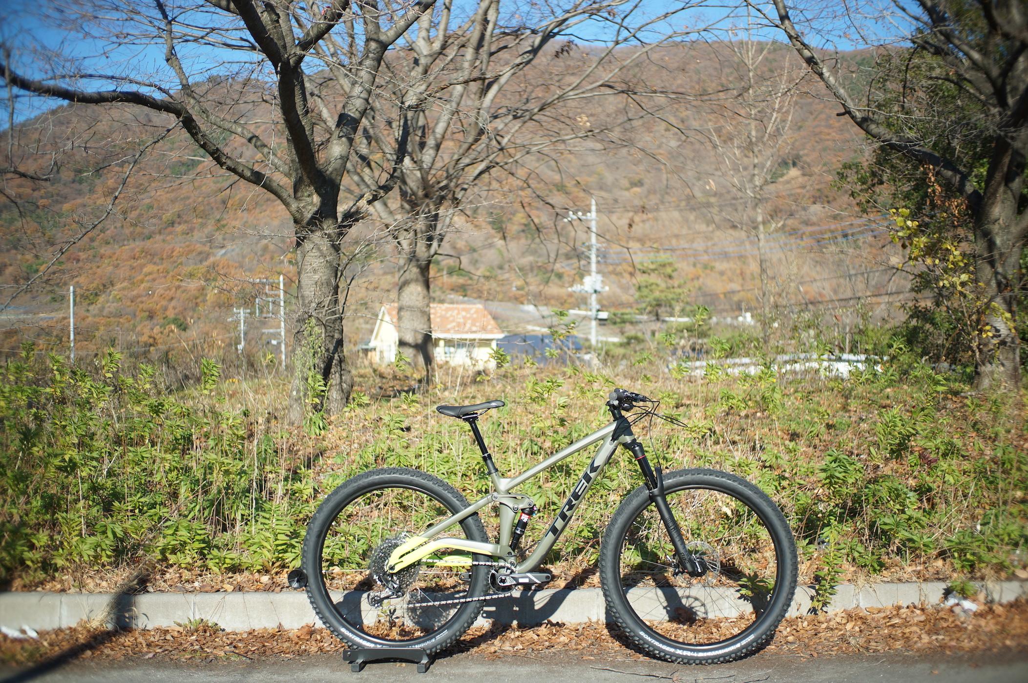 [MTB]冬にもオススメのマウンテンバイクFull Stacheで冒険に出かけよう!!