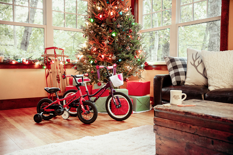 サンタさんへ、キッズバイクの最新在庫状況です。