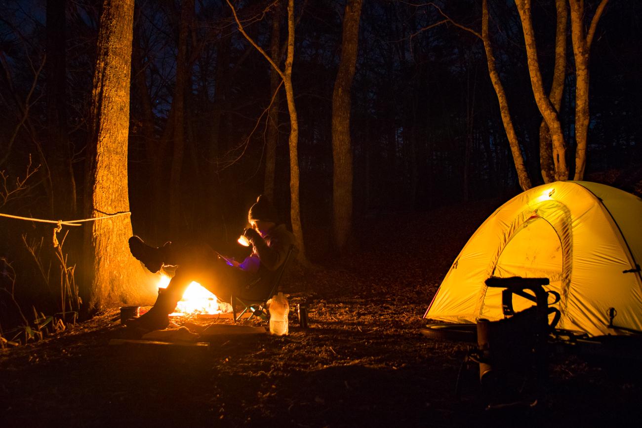 冬だって自転車キャンプ! Checkpoint SL5で一の瀬高原キャンプ場へ!!
