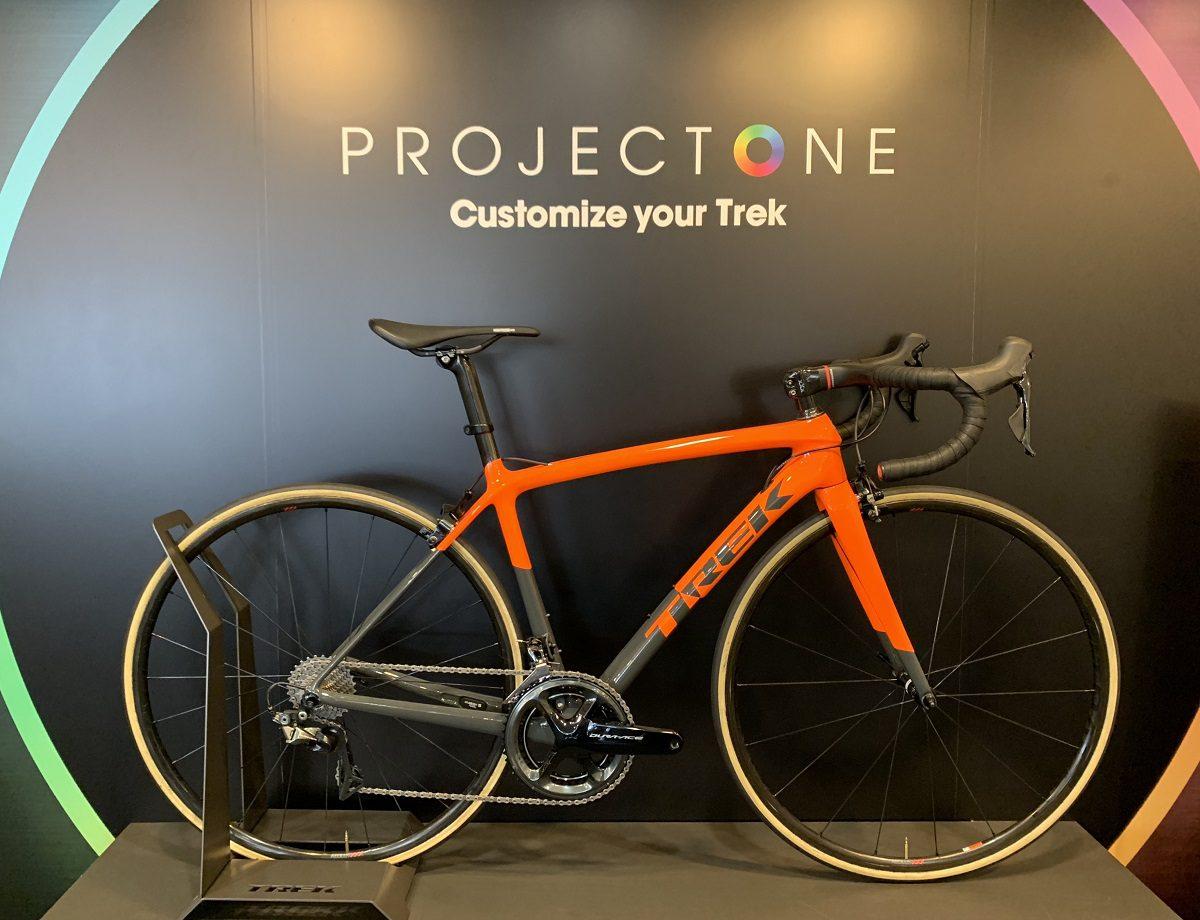 【期間限定】プロジェクトワンカラーのTREK最軽量ロードバイク『ÉMONDA SLR』試乗できます!