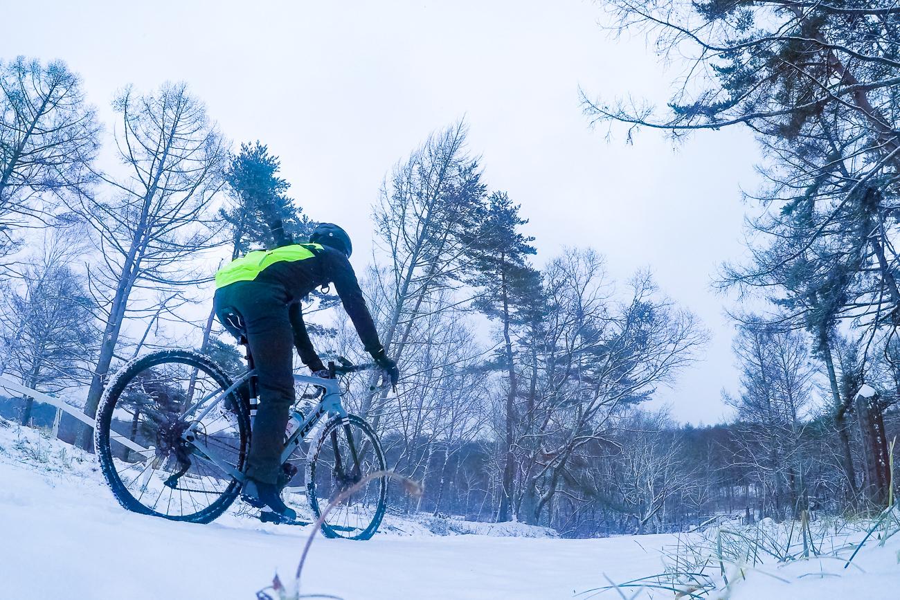冬の絶景に出会う旅。Checkpoint SL5でゆく、冬の八ヶ岳MTBコース