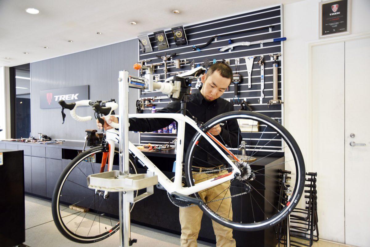 他ブランドも大歓迎☆スポーツバイクメカニックがおススメする「プリライドメンテナンス」