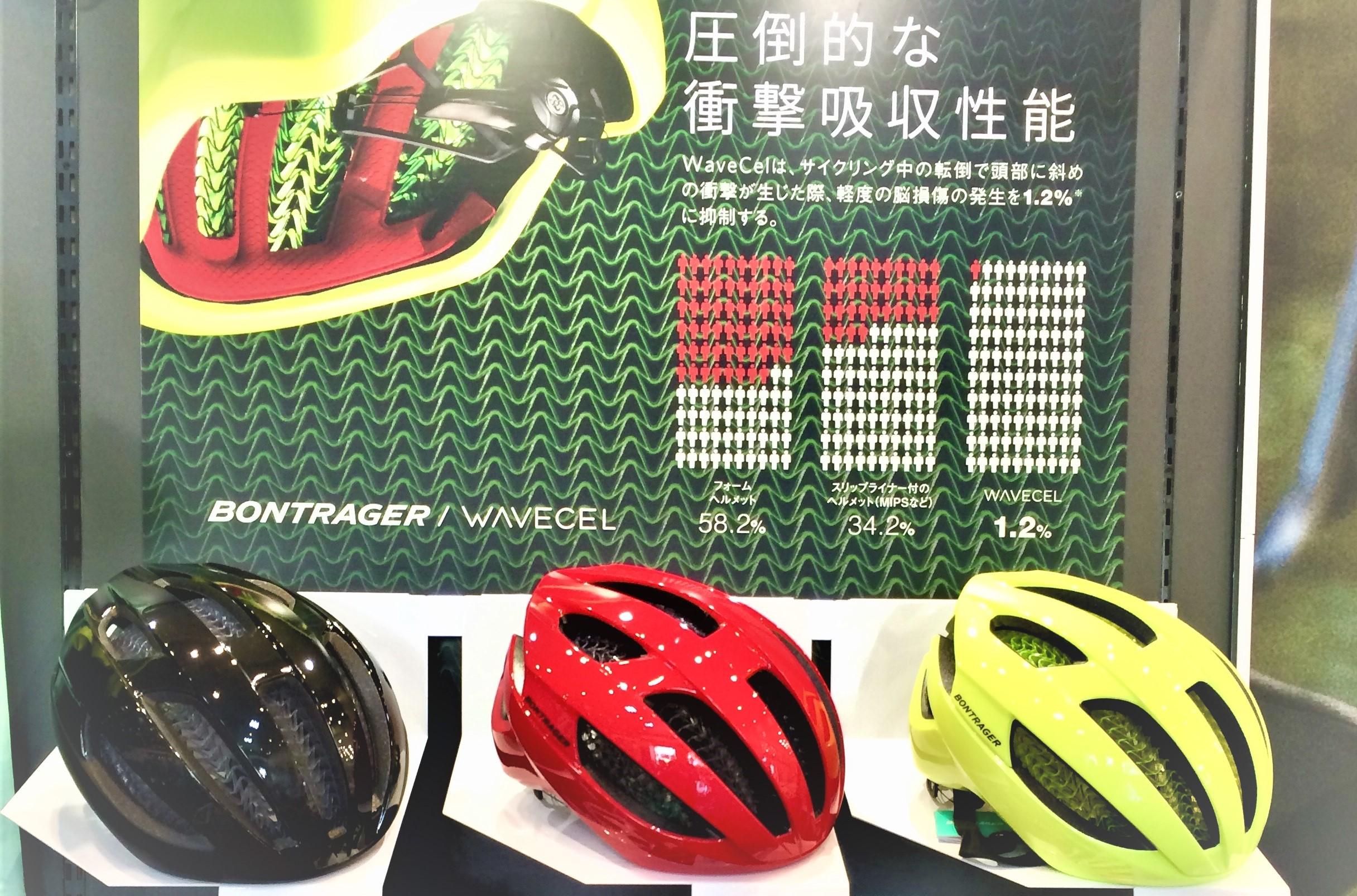 革新的新技術『WaveCel』搭載のヘルメット入荷しております。