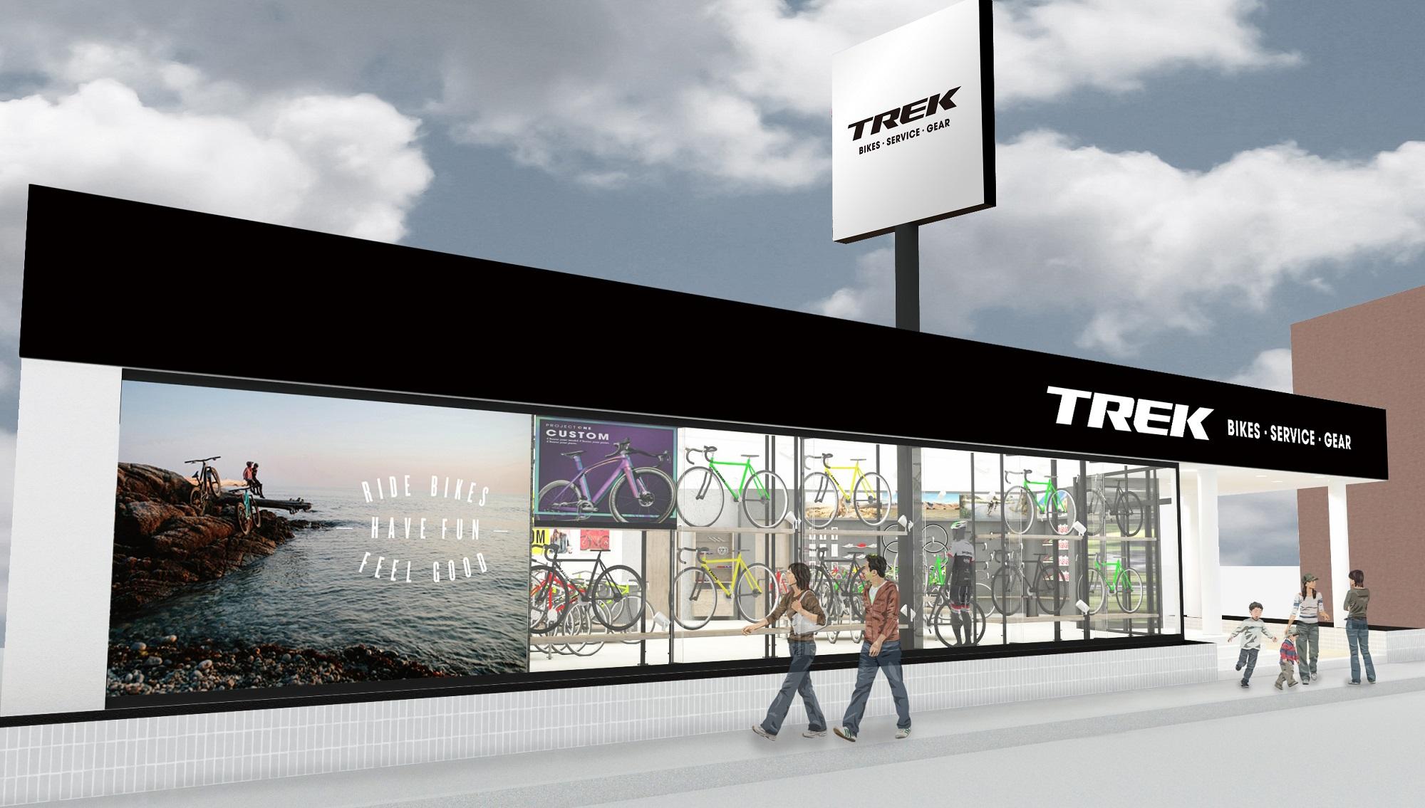 四国初出店!トレック直営店『TREK Bicycle 松山』が4月26日(金)にグランドオープン