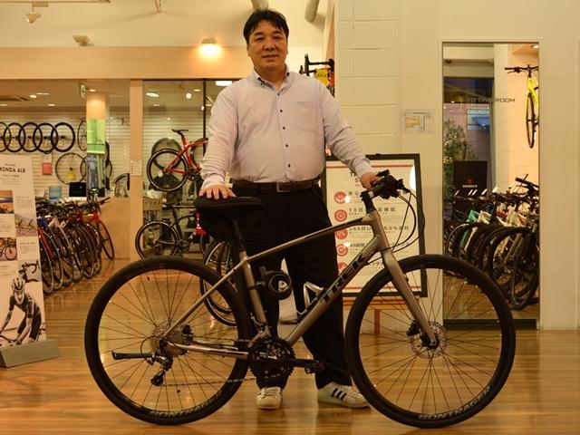 【Happy New Bike Day】 ~FX SPORT 4~「使い勝手の良さ、走行性能に惹かれて」