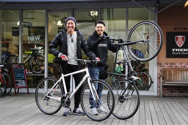 【Happy New Bike Day】FX 2 試乗して、自転車ってこんな楽しかったんだって感じました