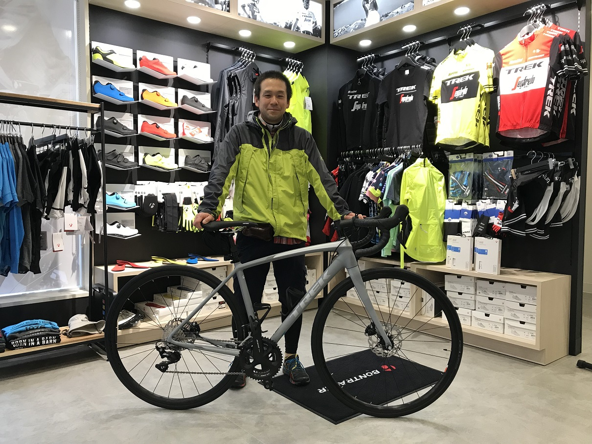 【Happy New Bike Day】Èmonda ALR 5 Disc 「RUNと平行して楽しみたい」