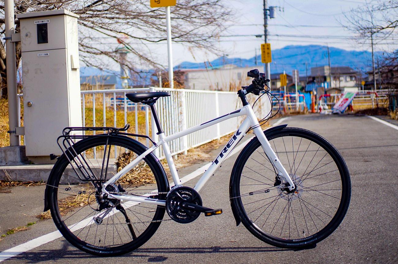 スポーツバイクで通勤・通学始めよう! 人気クロスバイク・FXを通勤・通学仕様にカスタマイズ!!