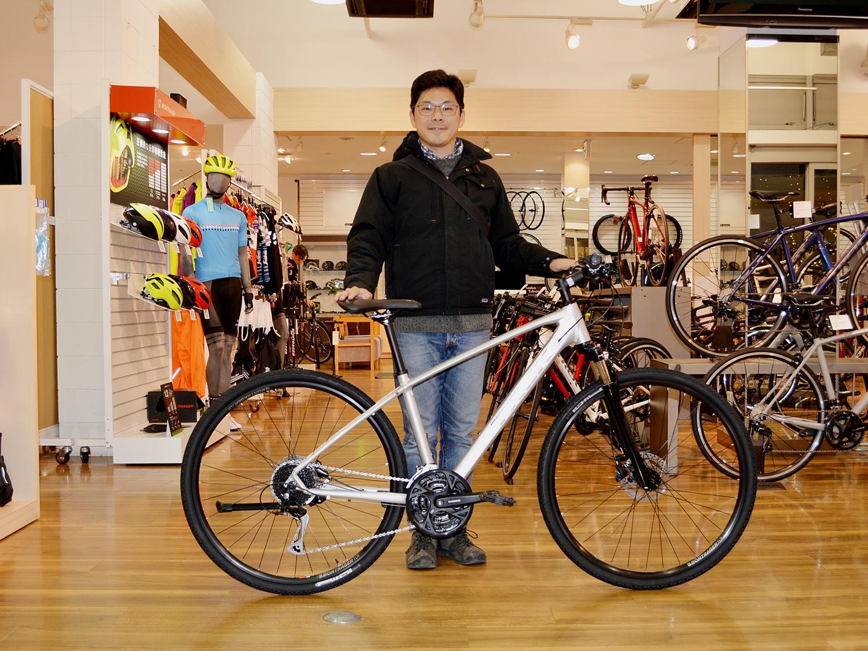 【Happy New Bike Day】 ~DUAL SPORT 3~「電動自転車からDUAL SPORT へ。理想の一台です!」