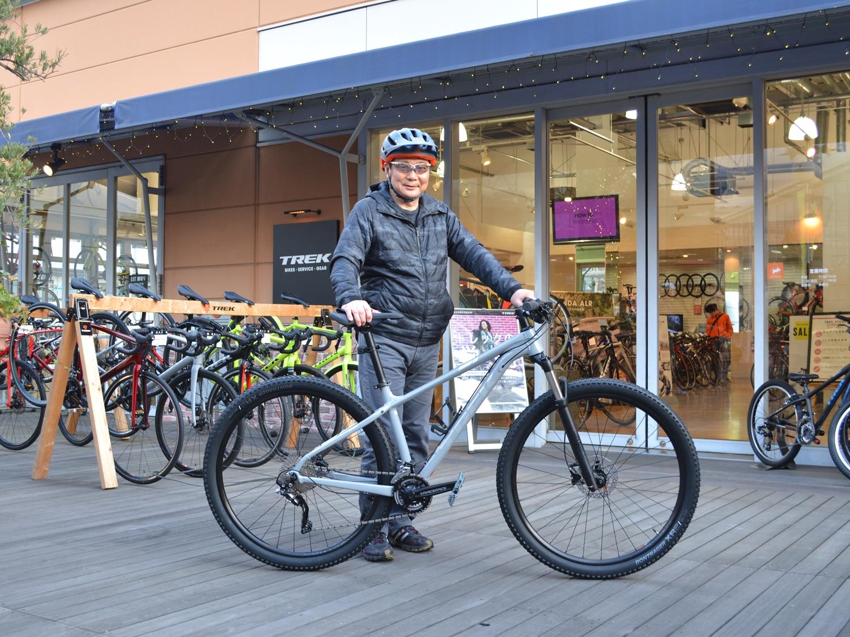 【Happy New Bike Day】 ~X-Caliber 8~「50過ぎのマウンテンバイク再デビューです」