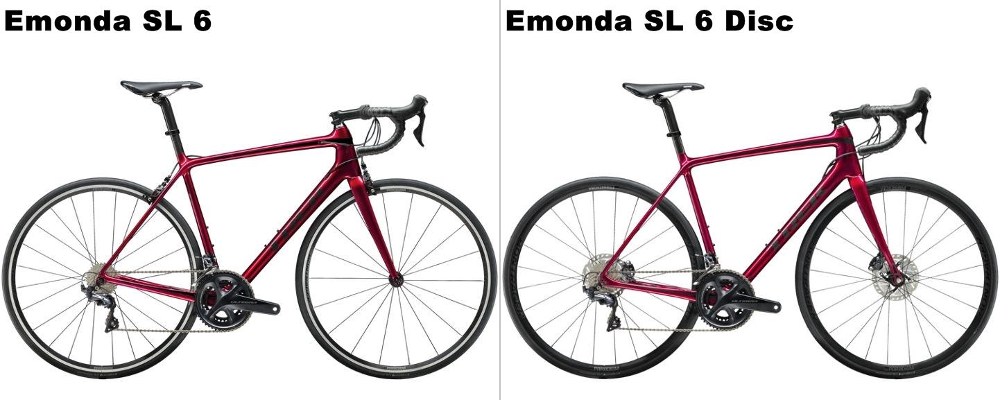 人気のカーボンロードバイク Emonda SL 6とEmonda SL 6 Discを徹底比較!