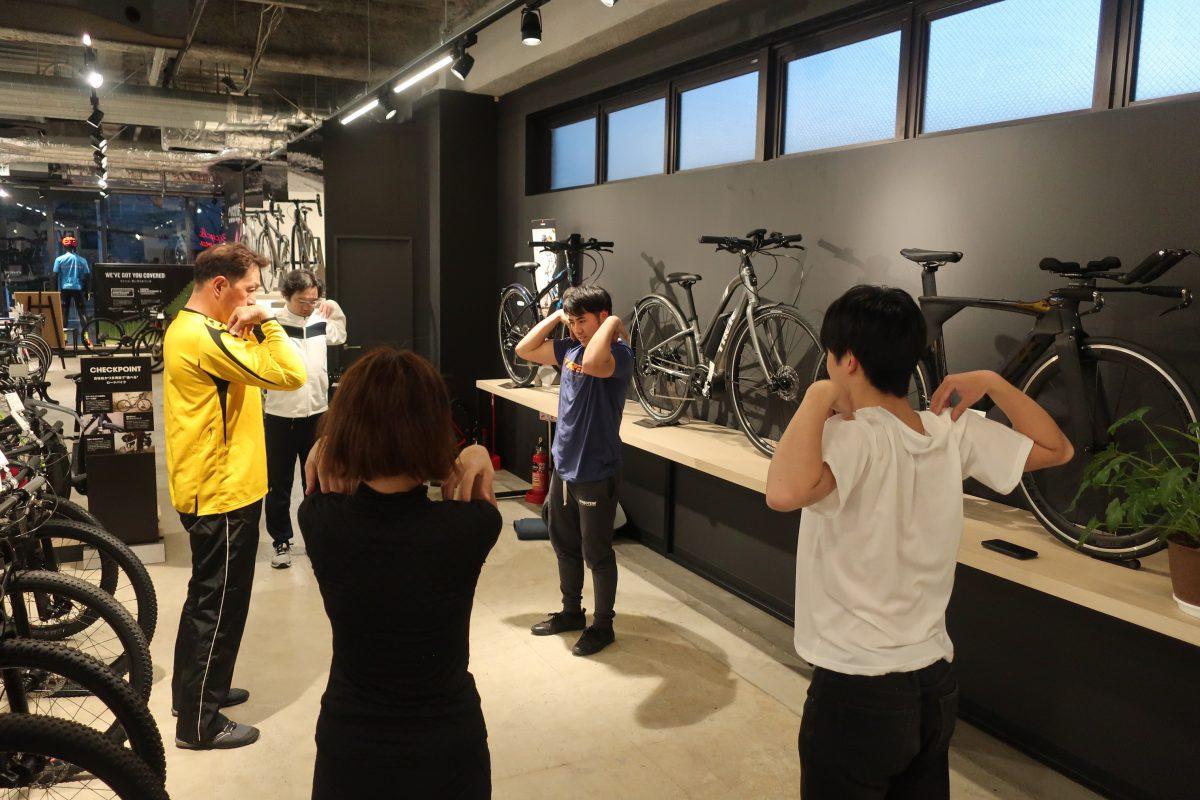 [イベント]自転車に役立つストレッチ&フィットネスセミナーを開催いたしました!!