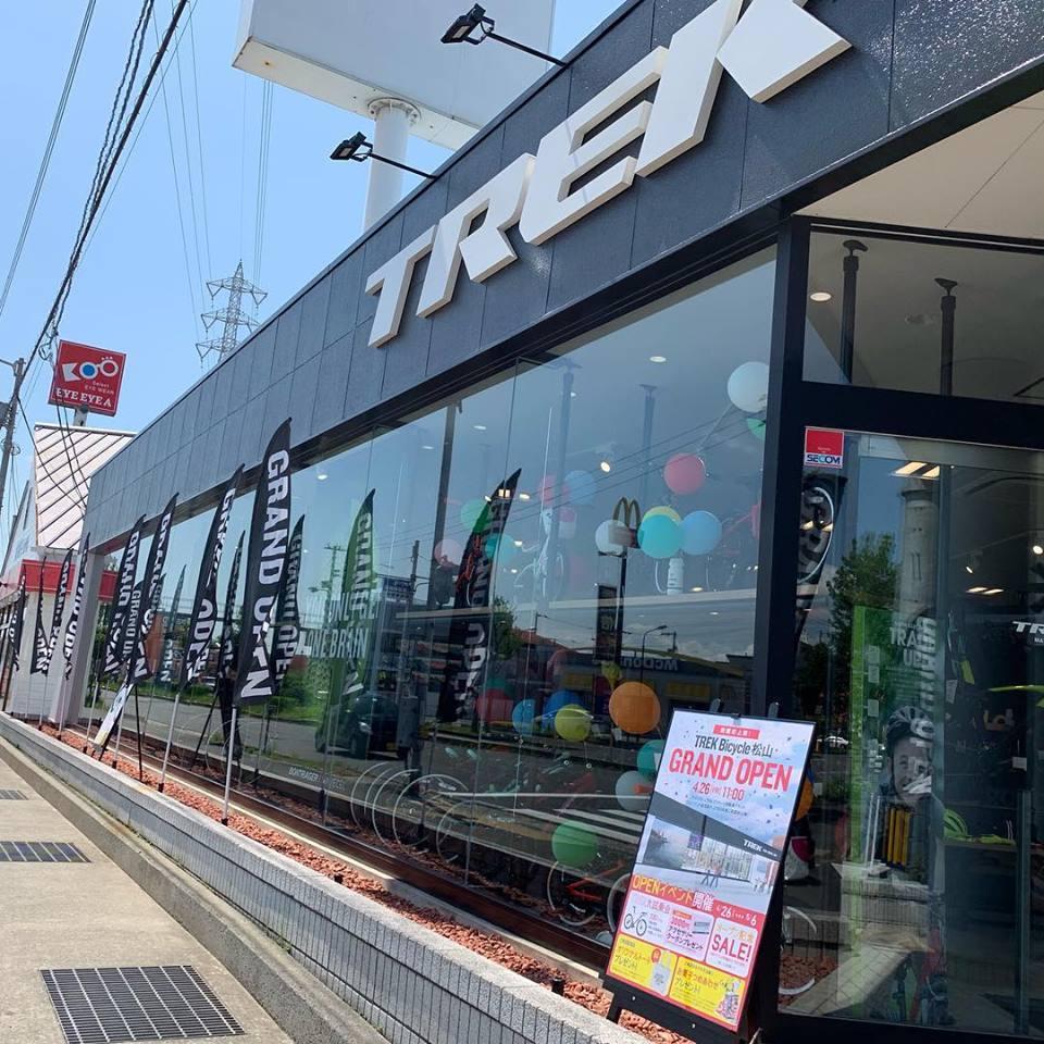 【TREK Bicycle松山店オープニングの様子】沢山のご来店、ありがとうございます。