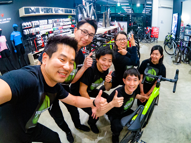 TREK Bicycle 甲府店 1周年のご挨拶【店長・望月】