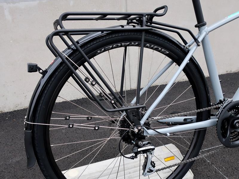 自転車ライフ、通勤・通学ライドを快適に!ラック&フェンダー