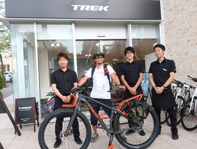 【Happy New Bike Day!】最高なツーリングMTBバイク「1120」でバイクパッキング!