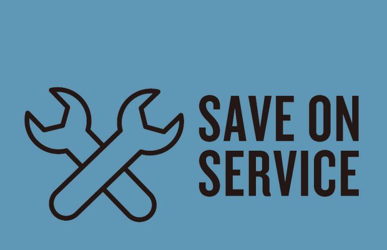梅雨の今が絶好のチャンス!愛車の点検にお得な『Save on Service メンテナンスキャンペーン』開催!(8/4まで)