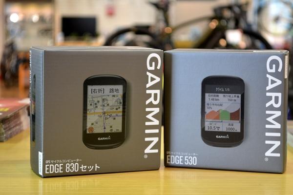 【Newアイテム入荷】GARMIN Edge 530 & Edge 830入荷しました!