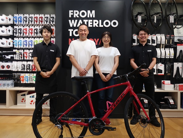 【Happy New Bike Day ! 】旦那様に誘われてスポーツバイクデビュー!