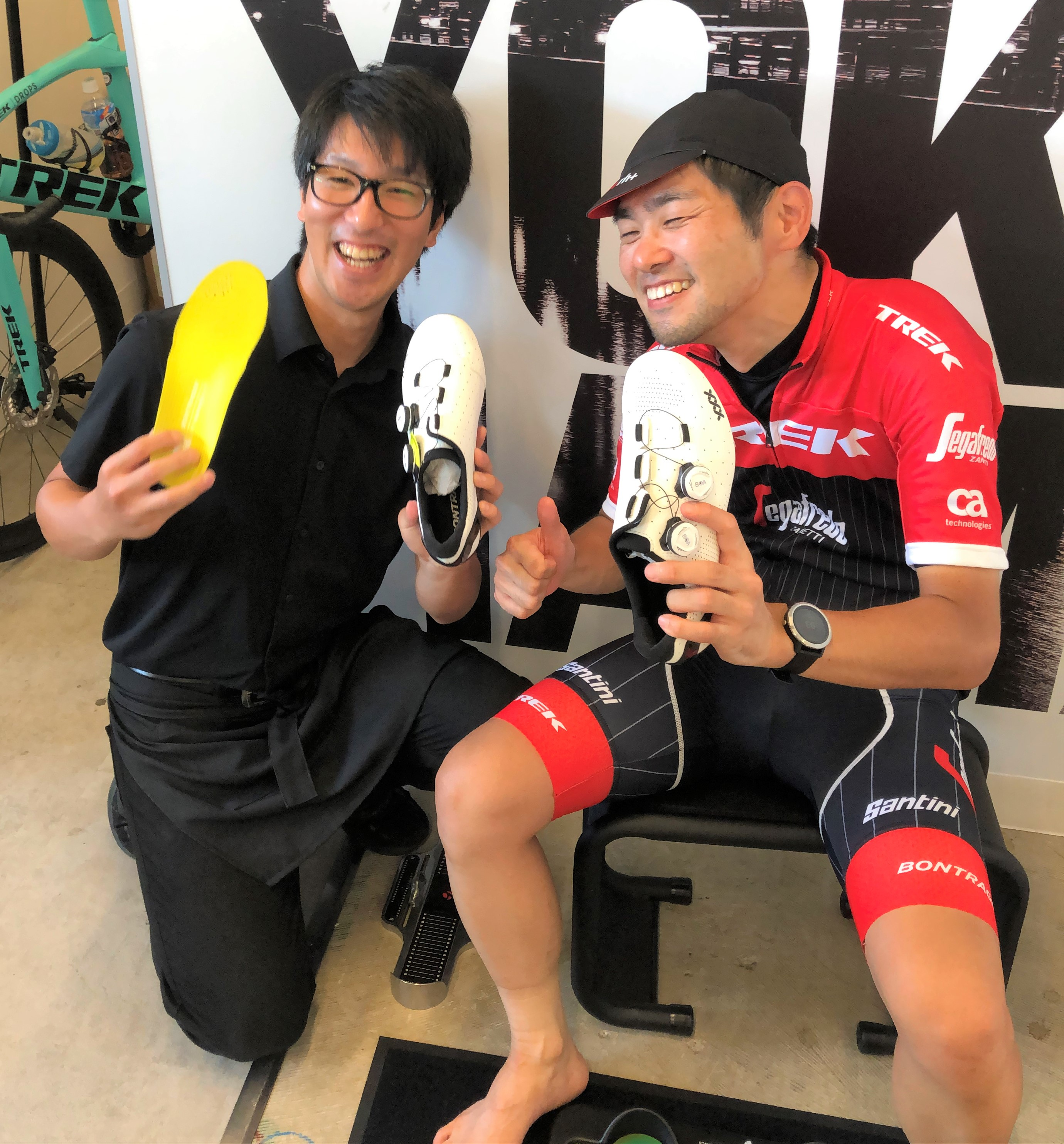 現役サイクリストへ最高なシューズ選びのお手伝い!!