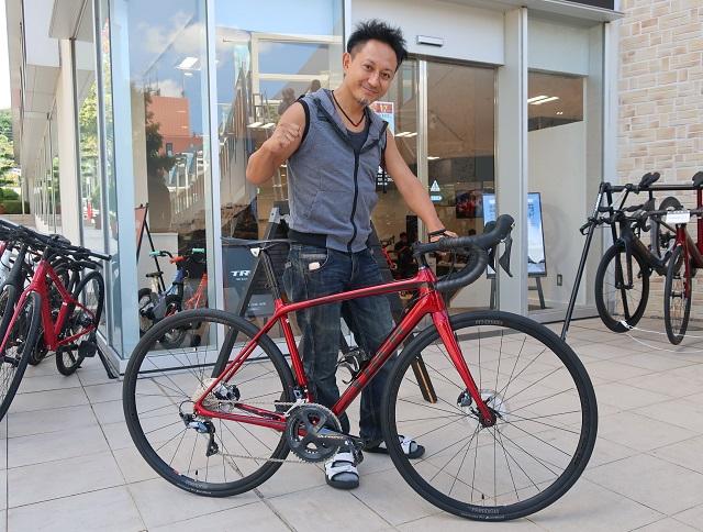 【Happy New Bike Day !】一目惚れのロードバイク!